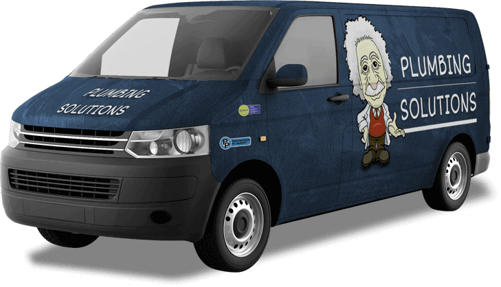 Plumbing Solutions truck ready for service in Concord