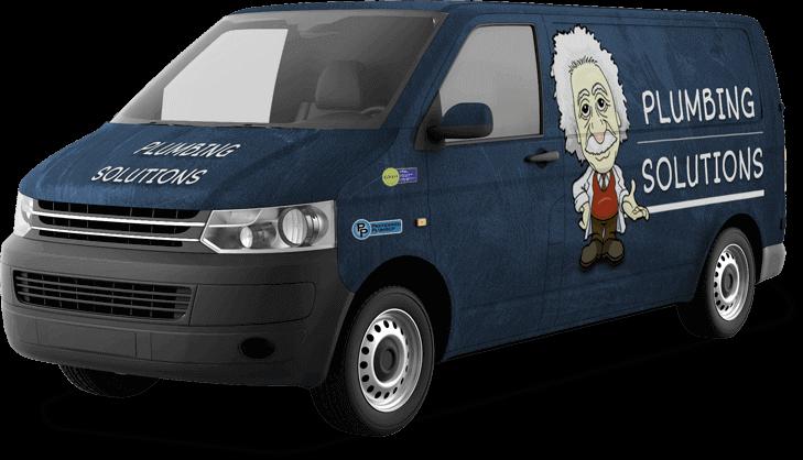 Plumbing Solutions truck