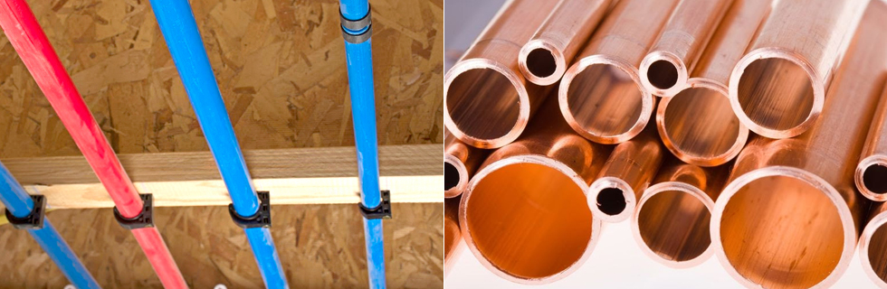 pex vs copper for water supply lines